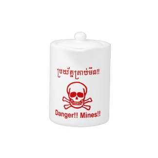¡Peligro!! ¡Minas!! ☠ camboyano de la muestra del