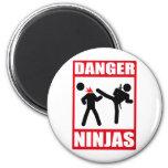 Peligro Ninjas Iman De Nevera