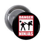 Peligro Ninjas Pins
