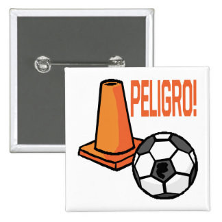 Peligro Pinback Buttons