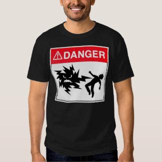 peligro playera