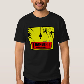 Peligro: Reina de la araña - camiseta oscura Poleras