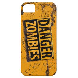 Peligro: Señal de peligro del zombi [iPhone] Funda Para iPhone SE/5/5s