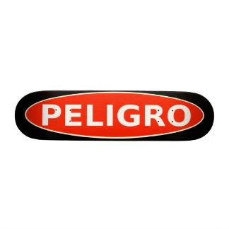 Peligro Skateboard Warning