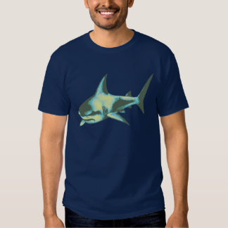 peligro, tiburones, precaución playeras