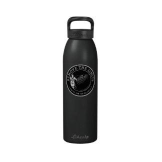 Peligroso-mirada de las botellas botella de beber