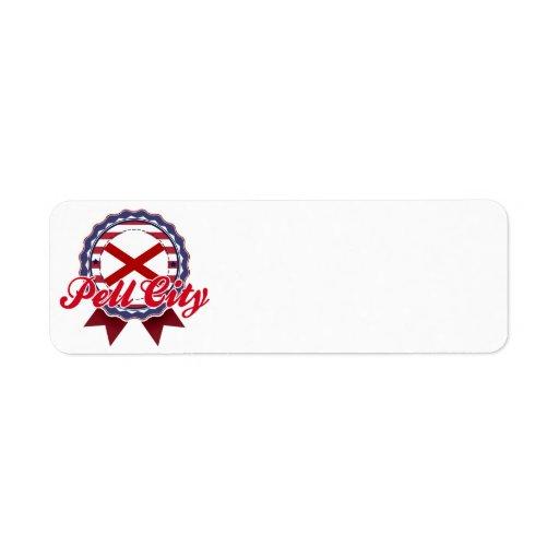 Pell City, AL Custom Return Address Labels