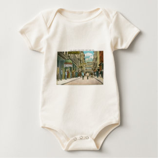 Pell Street (CHINATOWN), New York City (Vintage) Baby Bodysuit