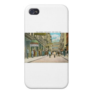 Pell Street (CHINATOWN), New York City (Vintage) iPhone 4/4S Cover