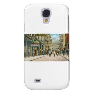 Pell Street (CHINATOWN), New York City (Vintage) Samsung Galaxy S4 Cover