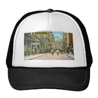 Pell Street (CHINATOWN), New York City (Vintage) Trucker Hat