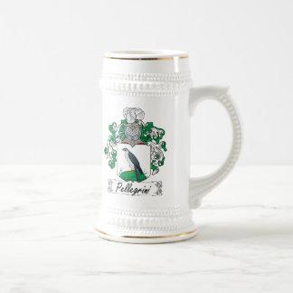 Pellegrini Family Crest 18 Oz Beer Stein