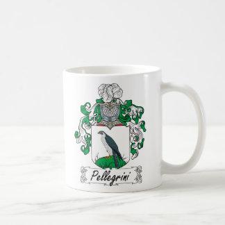 Pellegrini Family Crest Classic White Coffee Mug