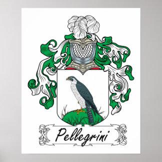 Pellegrini Family Crest Poster