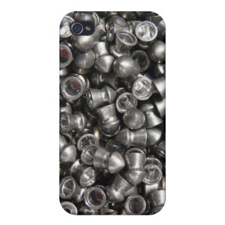 Pellet Gun Ammo - Lead Sharp Tips for Shooting iPhone 4 Covers