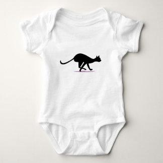 Pellizco del gato body para bebé