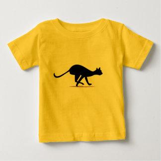 Pellizco del gato playera de bebé