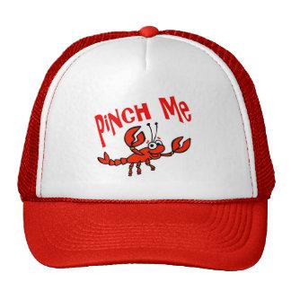 Pellizqúeme gorra de los cangrejos
