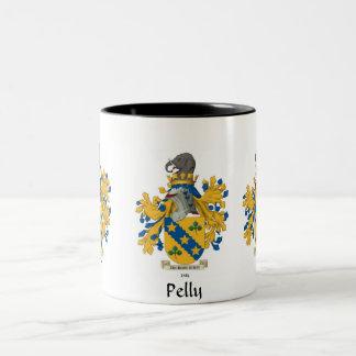 Pelly Family Crest Mug