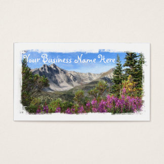 Pelly Mountain Vista Business Card