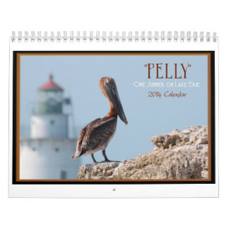 """Pelly"" One Summer on Lake Erie 2014 Wall Calendar"