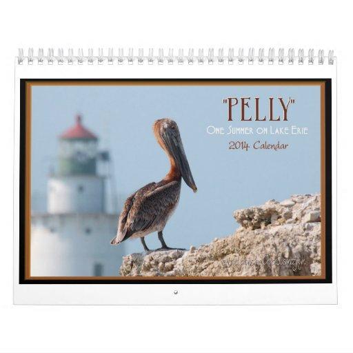 """""""Pelly"""" un verano en calendario de pared del lago"""