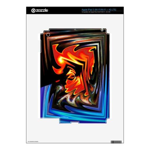 PELO DE LA ROCA DE ELVIS POP PEGATINA SKIN PARA iPad 3