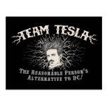 Pelo de los parásitos atmosféricos de Tesla del eq Tarjetas Postales