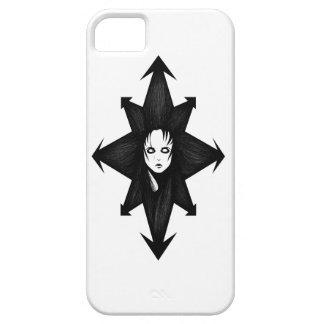 Pelo del caos iPhone 5 carcasas