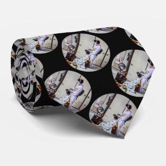 Pelo del geisha que viste el 芸者 del japonés del corbata personalizada