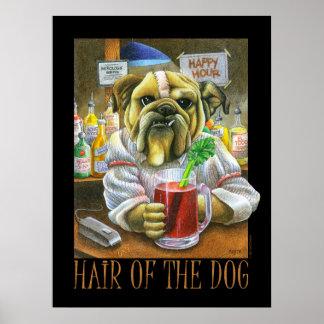 Pelo del perro póster