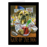Pelo del perro tarjetas