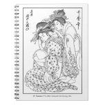 Pelo famoso de Utamaro que viste el cuaderno del g