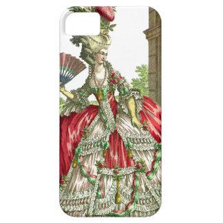 Pelo grande del vestido grande iPhone 5 carcasas