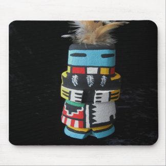 PELO LARGO Mousepad de Kachina del Hopi