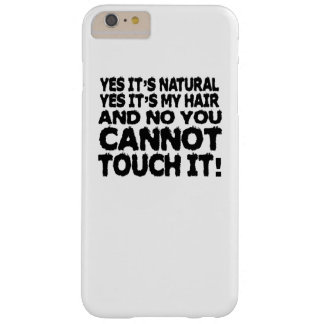 Pelo natural funda barely there iPhone 6 plus