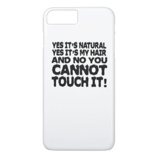 Pelo natural funda iPhone 7 plus