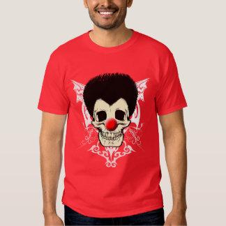 Pelo negro de Sr. Clown Camisas