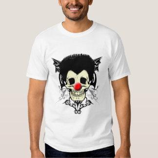 Pelo negro de Sr. Clown Polera