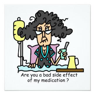 Pelo oscuro del efecto secundario de la medicación comunicados personalizados