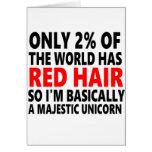 Pelo rojo divertido