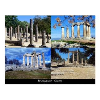 Peloponnese - Greece Postcard