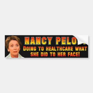 Pelosi: Anti ObamaCare Car Bumper Sticker
