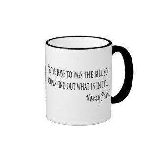 Pelosi Congressional Wisdom mug