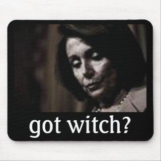 ¿Pelosi- consiguió a la bruja? Tapetes De Ratón