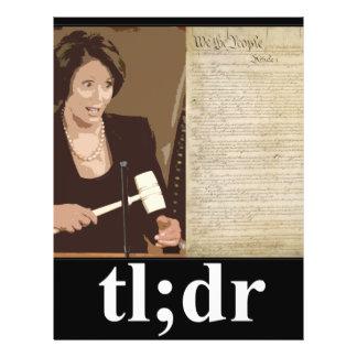 Pelosi-Constitución: tl; el Dr. Tarjeton