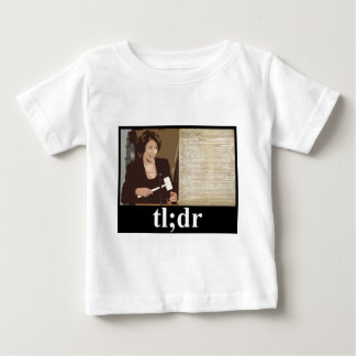 Pelosi-Constitution: tl;dr Baby T-Shirt