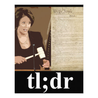 Pelosi-Constitution: tl;dr Customized Letterhead
