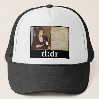 Pelosi-Constitution: tl;dr Trucker Hat