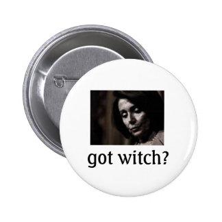 Pelosi-got witch? button
